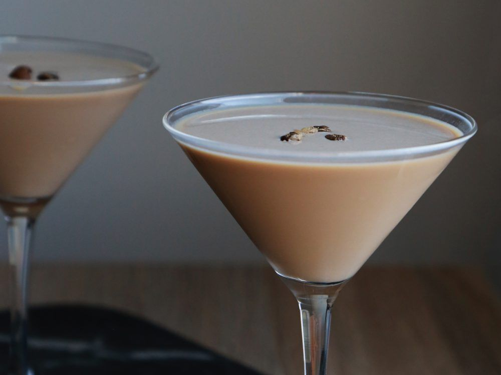 Christmas Cocktail Gingerbread Espresso Martini